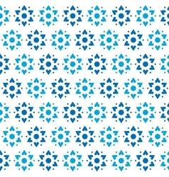 Star of David Seamless Pattern vector image