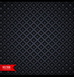 Stylish metal texture dark background with vector