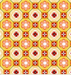 Tiles Lisbon Yellow vector