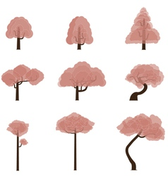 Tree Collection 7 vector