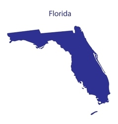 United States Florida vector image