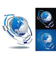 logo america segment vector image