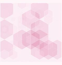 abstract modern tech hexagon texture design vector image