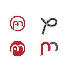 Filmstrip logo template logo template logo vector