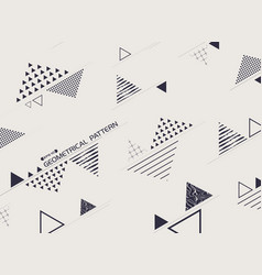 free form of stylish of geometric blue vector image