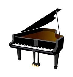 Icon piano vector