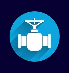 pipeline icon button logo symbol concept vector image