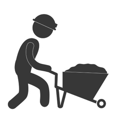 under construction related pictogram image vector image