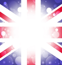 British background abstract England flag vector image vector image