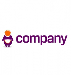 maid logo for service company vector image vector image