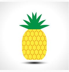 pineapple icon symbol design vector image