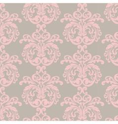 Damask luxury ornament pattern vector