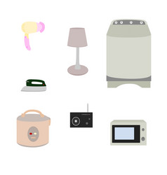 electric appliance icon isolated vector image