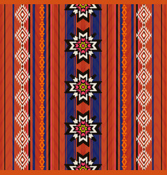 ethnic traditional textile pattern vector image