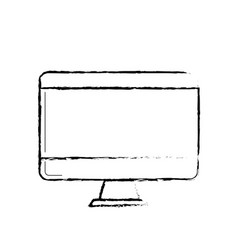 figure technology computer to business electronic vector image
