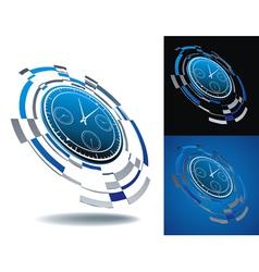 logo time segment vector image