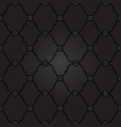 Seamless black background pattern vector