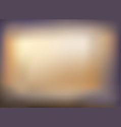 soft color of golden blurred violet gradient vector image