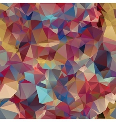 triangle seamless pattern geometric shapes vector image