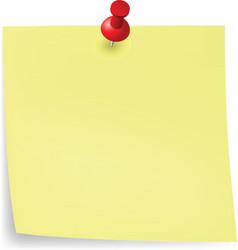 Yellow sticker vector image vector image