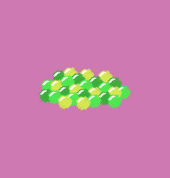 Caviar icon in hatching style vector