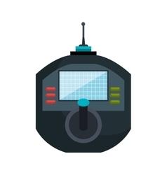 icon drone remote control graphic vector image vector image
