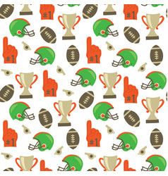 American football pattern super bowl vector