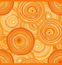 circles contour orange vector image