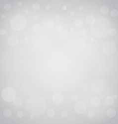 Defocused lights gray abstract bokeh background vector