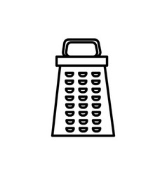 grater icon vector image