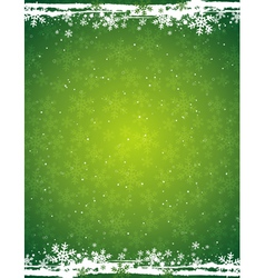 Green grunge christmas background vector
