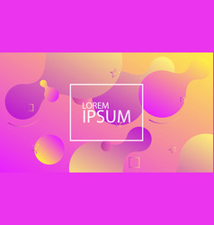 liquid dynamic background for web vector image