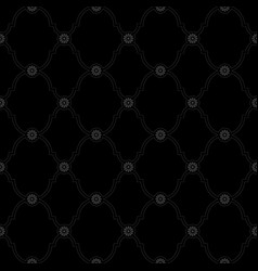 Seamless black background pattern vector