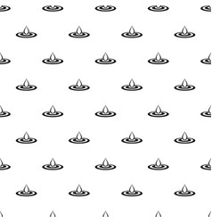 Water drop and spill pattern vector