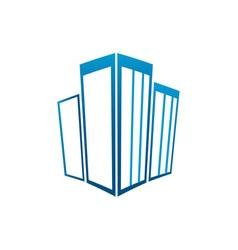 Buildings-3D-380x400 vector image