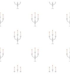 Candlestick lamp icon of for vector image