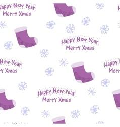 Cheerful Beautiful festive seamless pattern vector image