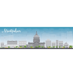Montpelier vector image vector image