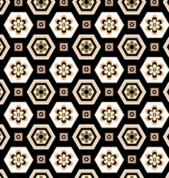 Patterned geometric vector image