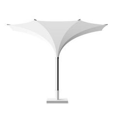 sun shade tulip umbrella vector image vector image