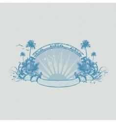 ocean coast vector image vector image