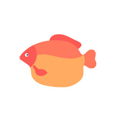 aquarium fish cartoon vector image