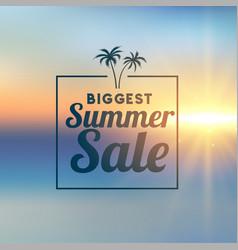 awesome summer sale stylish background vector image
