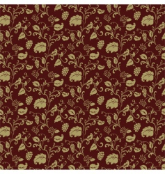 Burgundy pattern vector