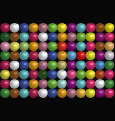 dotted background of rainbow colors vector image