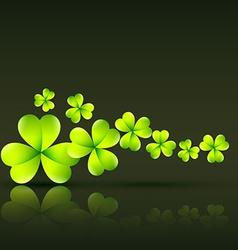 green st patricks day vector image