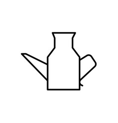 kitchen jug icon vector image