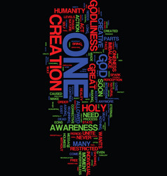 Message from the holy one text background word vector