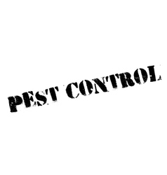 Pest Control rubber stamp vector image