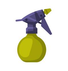Spray bottle hairdresser tool barber supplies for vector